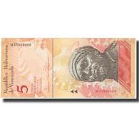 Billet, Venezuela, 5 Bolivares, 2011, 2011-02-03, KM:89a, NEUF - Venezuela