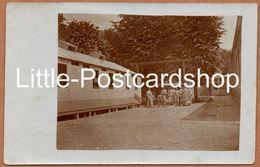 Foto Kegelspiel Im Feldlazarett 2 Laon Andenken An Den Feldzug 1916 - Guerre 1914-18