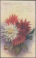 AF Armitage - Birthday Greetings, 1918 - Tuck's Oilette Postcard - Geburtstag