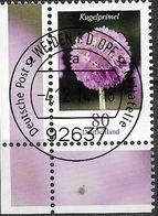 2014  Deutschland Allem. Fed.Mi. 3115 FD- Used Weiden  EUL Blumen: Kugelprimel (Primula Denticulata) - BRD