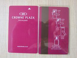 Crowne Plaza Docklands,UK - Hotelsleutels (kaarten)