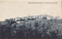 Montemerano (Grosseto) - Panorama (lato Ovest) - Grosseto