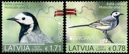 2019 Latvia, Europa, CEPT, National Birds, 2 Stamps, MNH - 2019