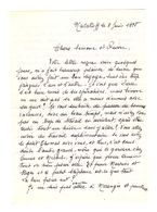 Lettre Manuscrite 1978 Malakoff Simone Pierre Toret Morangis - Manuscrits