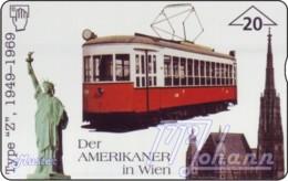 """TWK Österreich Privat: """"Der Amerikaner In Wien"""" Gebr. - Autriche"""