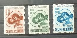 Serbia C1942 Germany WWII Postage Stamps - Mix B10 - Lettres & Documents