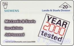 """TWK Österreich Privat: """"Landis & Staefa 2000"""" Gebr. - Autriche"""