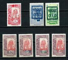 Somalia (Francesa) Nº 100/... Cat.19,10€ - Côte Française Des Somalis (1894-1967)