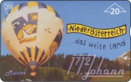 """TWK Österreich Privat: """"Peterle Air 1 - Ballon NÖ"""" Gebr. - Autriche"""