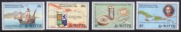 St Kitts Set Of Stamps Celebrating 500th Anniversary Of The Discovery Of America 1st Issue - St.Kitts Y Nevis ( 1983-...)