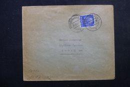 FRANCE / ALLEMAGNE - Enveloppe De Strasbourg Pour Paris En 1941 Avec Contrôle Postal -  L 64427 - Marcofilia (sobres)