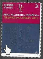 SPAIN, 2020,  MNH, LANGUAGES, REAL ACADEMIA ESPAÑOLA, NEW WORDS IN THE SPANISH LANGUAGE,1v - Sprachen