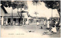 CONAKRY - Quartier Syriens - Guinée Française