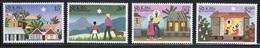 St Kitts 1983 Set Of Stamps Celebrating Christmas. - St.Kitts Y Nevis ( 1983-...)