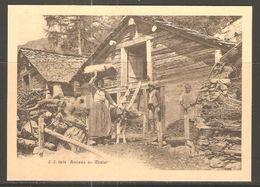 Carte P ( Arrivvée Au Chalet / Valais ) - VS Valais