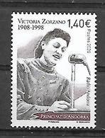 Andorre 2020 - Victoria Zorzano ** - French Andorra
