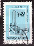 PIA - ARGENTINA - 1979 : Monumento Alla Bandiera A Rosario - (Yv  1168) - Usati