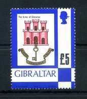 1979 GIBILTERRA SET MNH ** Serie Ordinaria 5£ - Gibraltar
