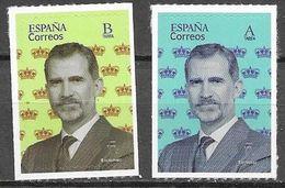 SPAIN, 2020,  MNH, ROYALS, KING PHILIP VI, 2v - Familias Reales