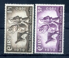 1960 IRLANDA SET MNH ** 144/145 - 1949-... Republic Of Ireland