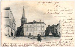 31 MURET - Place & Eglise - Muret