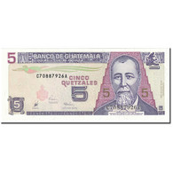Billet, Guatemala, 5 Quetzales, 1998, 1998-07-29, KM:100, NEUF - Guatemala