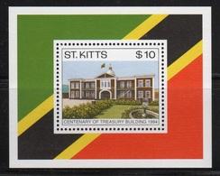 St Kitts 1994 Mini Sheet Celebrating The Centenary Of The Treasury Building. - St.Kitts Y Nevis ( 1983-...)