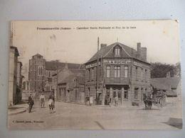 Fressenville Carrefour Route Nationale Et Rue De La Gare - France