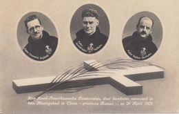 """Klooster 'Mater Dolorosa"""" Mook - Drie Noord-Amerikaansche Passionisten Door Bandieten Vermoord In China 1929 - Netherlands"""