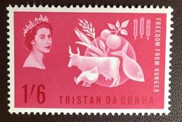 Tristan Da Cunha 1963 Freedom From Hunger MNH - Tristan Da Cunha