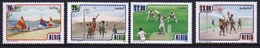 Nevis 1986 Set Of Stamps To Commemorate Sports. - St.Kitts Y Nevis ( 1983-...)
