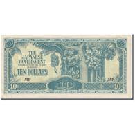 Billet, MALAYA, 10 Dollars, 1942-1944, Undated (1942-1944), KM:M7c, TB - Malaysia