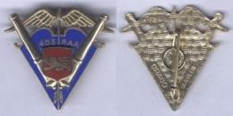 Insigne Du 403e Régiment D'Artillerie Anti Aérienne - Armée De Terre