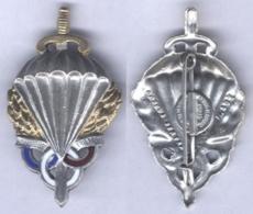 Insigne Du Brevet De Préparation Militaire Parachutiste ( Type I ) - Armée De Terre
