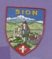 Ecusson Tissu - Suisse - Sion - Ecussons Tissu
