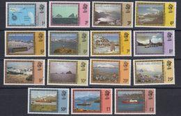 Falkland Islands Dependencies (South Georgia) 1980 Definitives 15v ** Mnh (48568) - Géorgie Du Sud