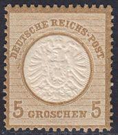 BRUSTSCHILD Nr.22 Sauber Postfrischer Prachtwert Ohne Signatur! (1) - KW 180 € (bb20) - Gebruikt