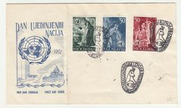 United Nations Day 1952 FDC B200701 - Lettres & Documents