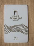 Peninsula Hotel,Ningbo China - Hotelsleutels (kaarten)