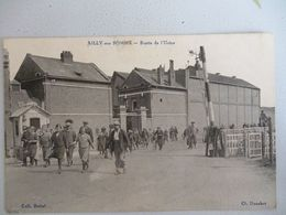 Ailly Sur Somme  Sortie De L Usine - Autres Communes