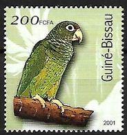 Guinea Bissau - MNH 2001 -  Puerto Rican Amazon -   Amazona Vittata - Pappagalli & Tropicali