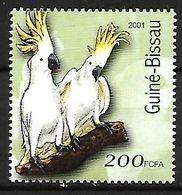 Guinea Bissau - MNH 2001 -    Sulphur-crested Cockatoo  -  Cacatua Galerita - Pappagalli & Tropicali