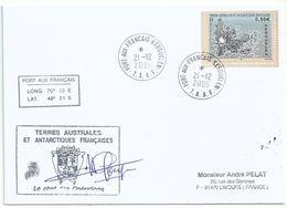 YT 432 Carte De Kerguelen - Port Aux Français - 21/12/2005 - French Southern And Antarctic Territories (TAAF)