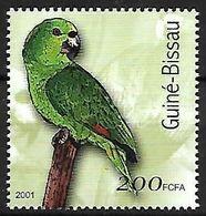 Guinea Bissau - MNH 2001 -    Yellow-naped Amazon  -  Amazona Auropalliata - Pappagalli & Tropicali