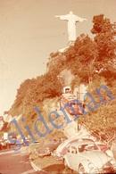 35mm DIAPOSITIVE SLIDE PHOTO 60s RIO DE JANEIRO BRAZIL BRASIL VOLKSWAGEN VW BEETLE TAXI A6 - Diapositivas