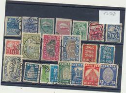 1238 Estonia Estland Estonie Used Collection Set 21 Stamps Michel Price 49,6 Euros - Estonia