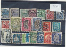 1239 Estonia Estland Estonie Used Collection Set 21 Stamps Michel Price 49,6 Euros - Estonia