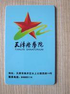 Tianjin Sanatorium By Military - Hotelsleutels (kaarten)