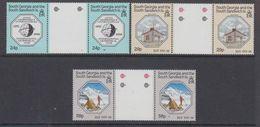 South Georgia 1987 IGY / Int. Geophysical Year 3v Gutter  ** Mnh (48573) - Géorgie Du Sud
