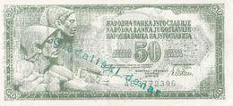 Yugoslavia 50 DIN Gleadliski Denar , Theater Money - Yugoslavia